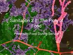 Sanitation 2.8: The Flow of Food