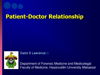 Patient rights and  Doctor-patient relationship