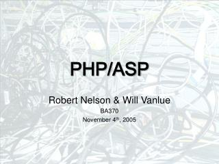 PHP/ASP