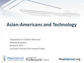 Asian-Americans and Technology