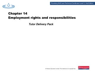 Tutor Delivery Pack