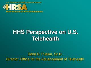 HHS Perspective on U.S. Telehealth