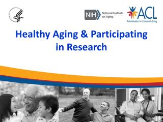 Healthy Aging & Participating in Research
