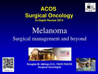 ACOS  Surgical Oncology In-Depth Review 2014
