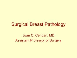 Surgical Breast Pathology