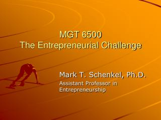 MGT 6500 The Entrepreneurial Challenge