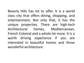 Los Angeles Luxury Real Estate