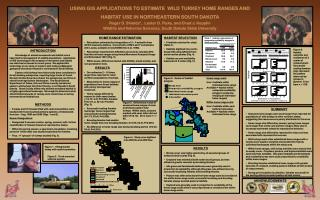 USING GIS APPLICATIONS TO ESTIMATE  WILD TURKEY HOME RANGES AND