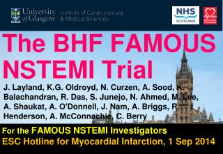 The BHF FAMOUS NSTEMI Trial