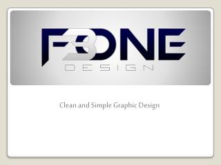 Clean and Simple Graphic Design