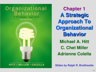 Chapter 1 A Strategic Approach To Organizational Behavior