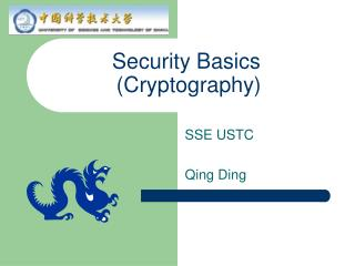 Security Basics (Cryptography)