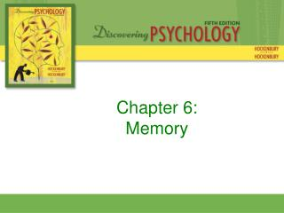 Chapter 6: Memory