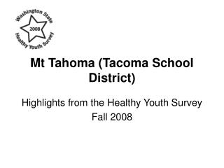 Mt Tahoma (Tacoma School District)