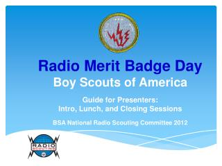 Radio Merit Badge Day Boy Scouts of America