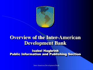 Basic Facts: the IDB Group