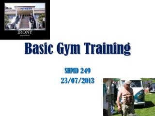 Basic Gym Training