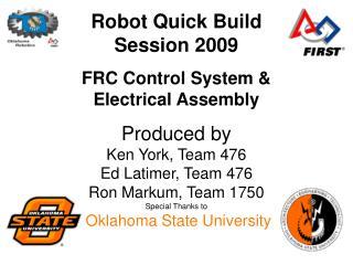 Robot Quick Build Session 2009