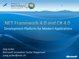 .NET Framework 4.0 and C#  4.0
