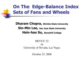 On The   Edge-Balance Index Sets of Fans and Wheels