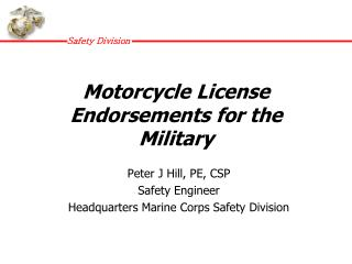 Motorcycle License Endorsements for the Military