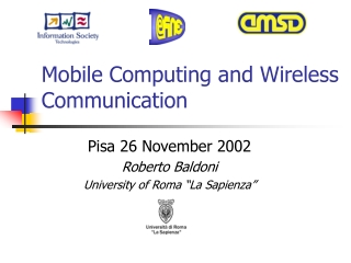 Mobile Computing and Wireless Communication