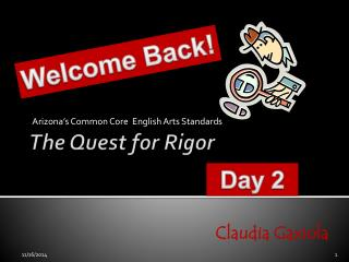 The Quest for Rigor