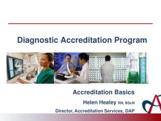 Diagnostic Accreditation Program