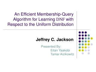 Jeffrey C. Jackson