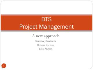 DTS Project Management