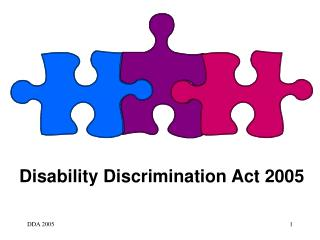Disability Discrimination Act 2005