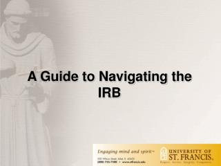 A Guide to Navigating the IRB