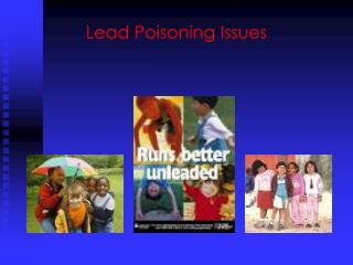 Lead Poisoning Issues