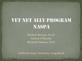 VET NET Ally Program NASPA