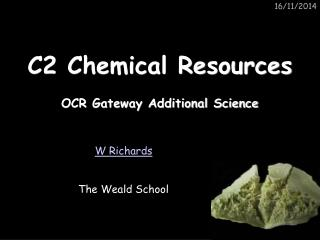 C2 Chemical Resources