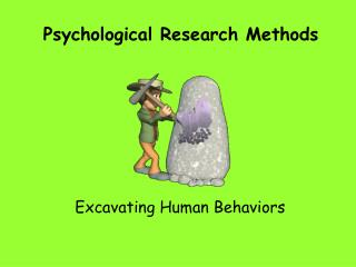 Psychological Research Methods