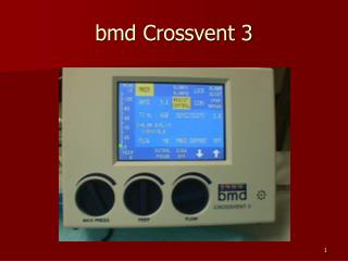 bmd Crossvent 3