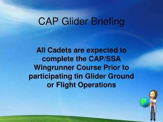 CAP Glider Briefing