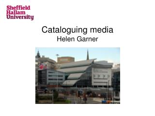 Cataloguing media Helen Garner
