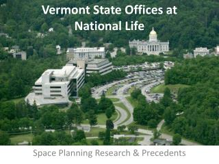 Vermont State Offices at National Life
