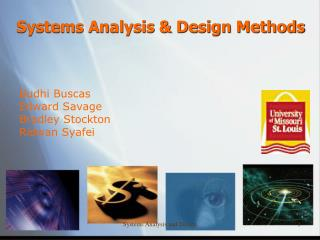 Systems Analysis & Design Methods