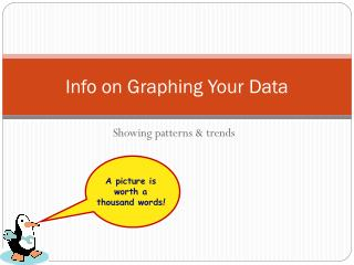 Info on Graphing Your Data