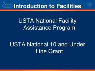 Introduction to Facilities