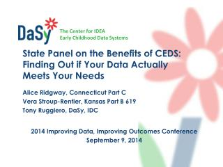 2014 Improving Data, Improving Outcomes Conference September 9,  2014