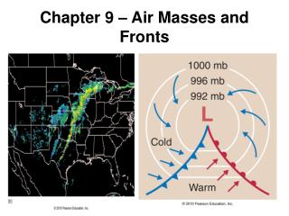 Chapter 9 – Air Masses and Fronts