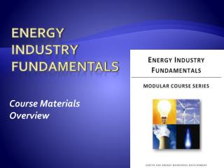 Energy  Industry  Fundamentals