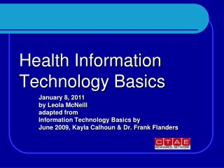 Health Information Technology Basics