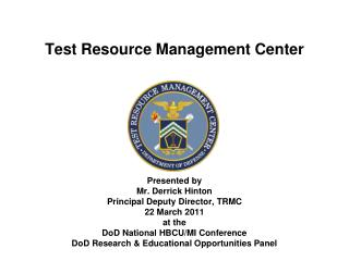 Test Resource Management Center