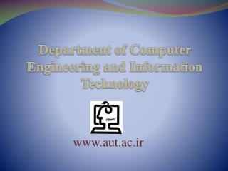 Department of Computer Engineering and Information Technology