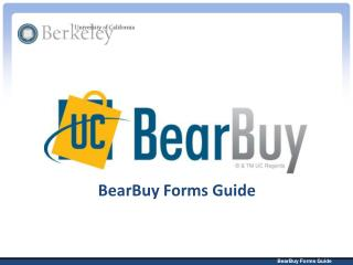 BearBuy Forms Guide